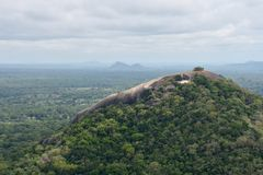 View from the top of Sigiriya Royalty Free Stock Photos