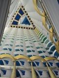 View top sky building hotel dubai burj arab royalty free stock images