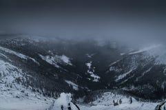 View from the top of Sniezka, Karkonosze Stock Photo