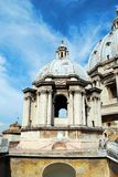 View of top of St Peter Basilica roof on May 31, 2014 Royalty Free Stock Photography