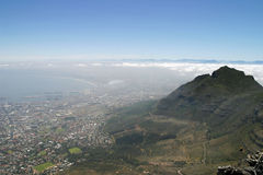 View from top of Table Mountain Royalty Free Stock Image