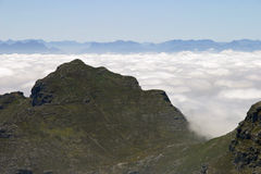 View from top of Table Mountain Royalty Free Stock Photo
