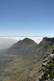 View from top of Table Mountain Royalty Free Stock Photography