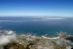 View from top of Table Mountain Stock Images