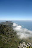 View from top of Table Mountain Royalty Free Stock Photos