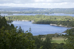 View from Top of Torc Waterfall, Killarney National Park Royalty Free Stock Photography
