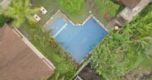 View from the top ubud indonesia. 4k video stock footage