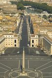 View from the top of the Vatican Stock Image