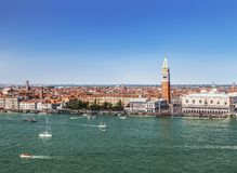 View from the top of Venice royalty free stock photography