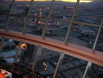 View from Top of the World restaurant, Stratosphere, Las Vegas, Nevada, USA Stock Photo