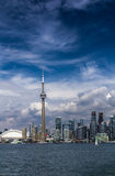 The view of Toronto City Royalty Free Stock Photo