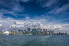 The view of Toronto City Royalty Free Stock Photos