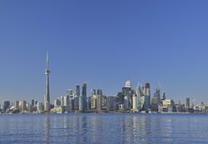 View of toronto cityscape Canada. With blue sky Royalty Free Stock Image