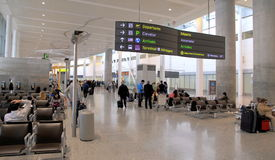 View of the Toronto Pearson Airport stock images