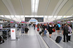 View of the Toronto Pearson Airport Stock Image