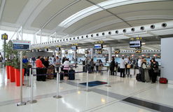View of the Toronto Pearson Airport Stock Photography