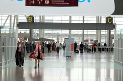 View of the Toronto Pearson Airport royalty free stock images
