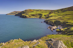 View from Torr Head in Northern Ireland Royalty Free Stock Images
