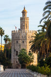 View of Torre del Oro. Seville Royalty Free Stock Photos