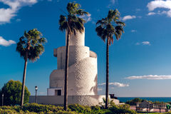 View of Torre Mirador in the Battery Park Stock Photo