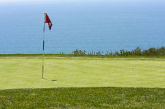 View from Torrey Pines Golf Course. In San Diego California Stock Photography