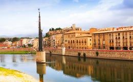 View of Tortosa Royalty Free Stock Photos