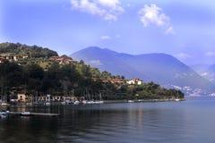 View of Toscolano Maderno, Lago di Garda Italy Stock Photo