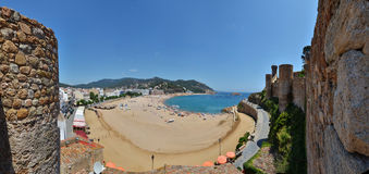 View of Tossa de Mar Stock Photos
