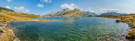 Totensee in the canton of Valais, Switzerland Royalty Free Stock Photography