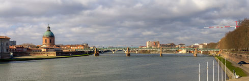 View of Toulouse, Midi-Pyrenees, France Stock Image