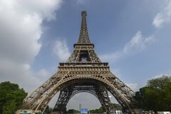 View of the tour eiffel in Paris Royalty Free Stock Photography