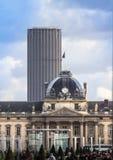 Tour Montparnasse and Les Invalides, Paris Royalty Free Stock Photos