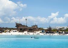 Bahama`s Tourist Beach Stock Photos