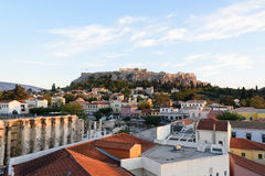 View toward Acropolis Royalty Free Stock Images