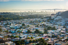 View toward downtown from Grand View Park,  Royalty Free Stock Images