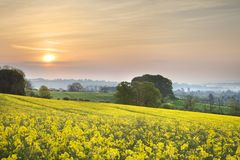 View towards Chipping Campden Stock Image