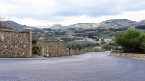 View towards the citadel Stock Photo