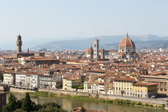 View towards Florence Royalty Free Stock Photo