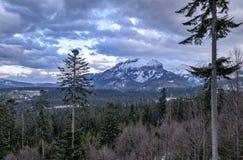 Havran Peak in Tatra Mountains royalty free stock image