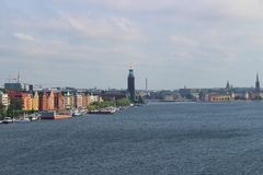 View towards Kungsholmen and Old Town Stock Photo