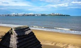View towards Maputo city Royalty Free Stock Photos