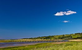 View towards the Northern sea, Denmark Royalty Free Stock Photography