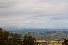 View towards Pollensa bay Royalty Free Stock Image