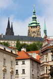 View towards Prague Castle Royalty Free Stock Image
