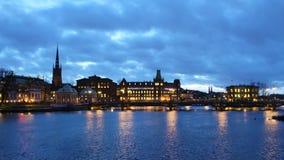 View towards Riddarholmen Royalty Free Stock Images