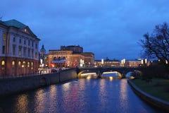 View towards Royal Opera House Royalty Free Stock Image