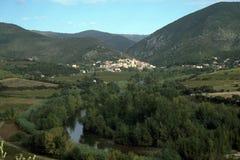 France, Herault, Roquebrun royalty free stock photography