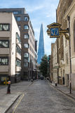 View towards Shard building London Royalty Free Stock Photos