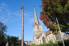 Free View Towards St John`s Church, Frome, Somerset, England Stock Images - 157481474