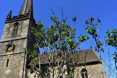 Free View Towards The Church Of Saint John The Baptist,, Frome, Somerset, England Royalty Free Stock Photo - 157481025
